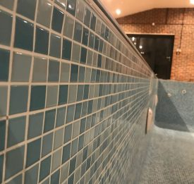 Re-tiled in beautiful mosaics