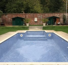 Tiled pool refurbishment in Bedford