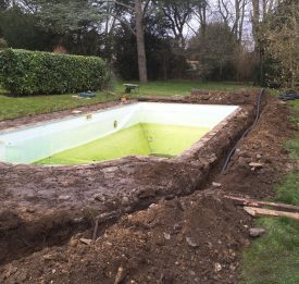 Pool Renovation In Buckinghamshire