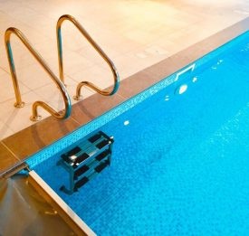 Aquaguard Safety Cover and Undercover ladder in Hitchin | Blue Cube Pools