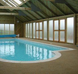 Indoor residential pool