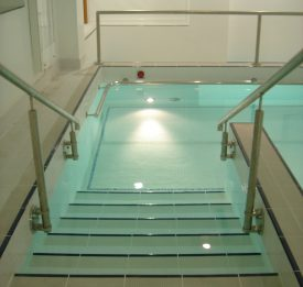Commercial Hydrotherapy Pool new build in London