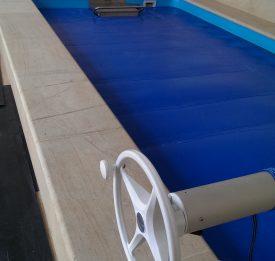 Endless pool indoor