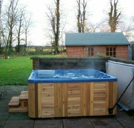 Enjoy your hot tub all year round, install a cover lifter for ease.