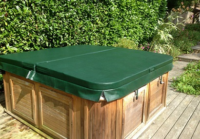 Hot Tub Cover green