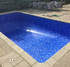 Liner renovation by Blue Cube Pools