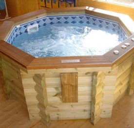 Wooden Timber spa