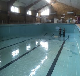 Commercial Pool repair work