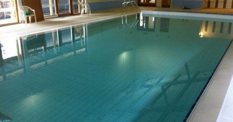 Commercial pool after refurbishment