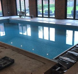 Tiled pool renovation