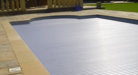 Slatted Pool Cover installation