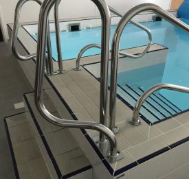 Hydrotherapy Pool with easy access steps