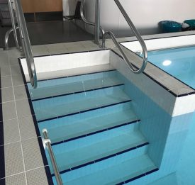 Commercial hydrotherapy pool builder