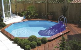 Gardi wooden pool | Blue Cube Pools
