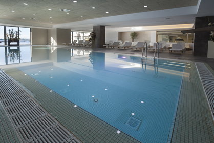 building and maintaining hotel swimming pools and spas