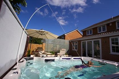 resistance swim spa supplier Bedfordshire