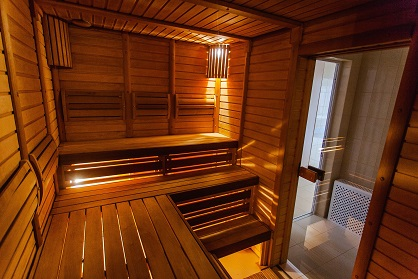 Home sauna installation company Northamptonshire
