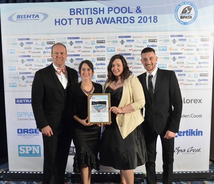 SPATA Gold Award Winning Pool Company