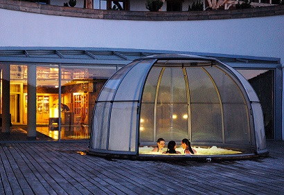 Hot tub dome enclosure supplier