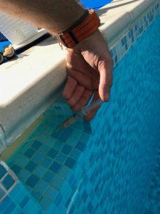 Pool Leak dye test company Bedfordshire