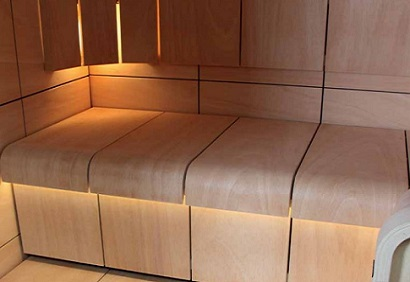Commercial Sauna Installation Bedfordshire