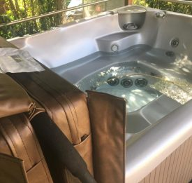 Hot tub servicing