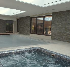 mosaic tiled spa installer Bedfordshire | Blue Cube Pools