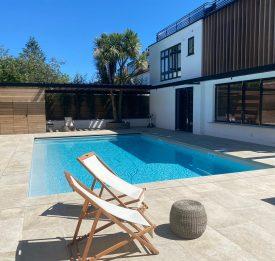 Modern outdoor swimming pool designer London | Blue Cube Pools